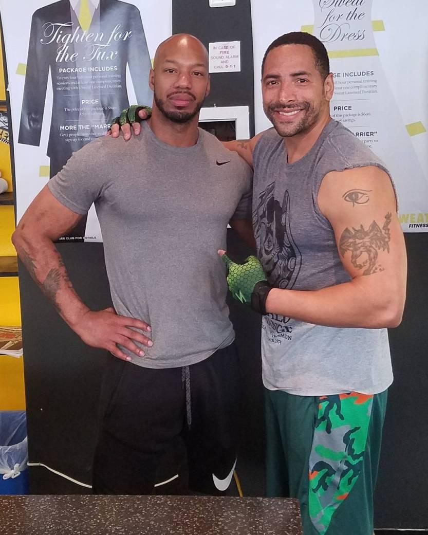 jamel harris david m raine trainer persoanl gym life guns arms strength goals
